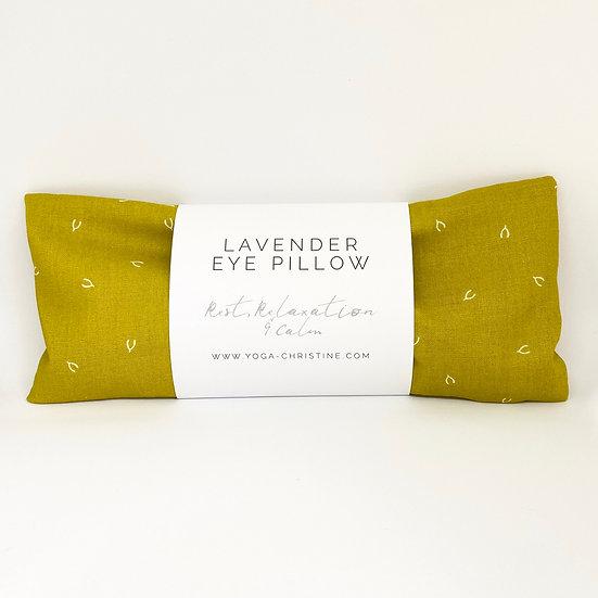 Mustard Wishbone Yoga Eye Pillow