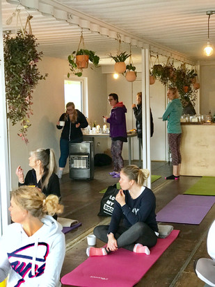 Yoga at PAUS.