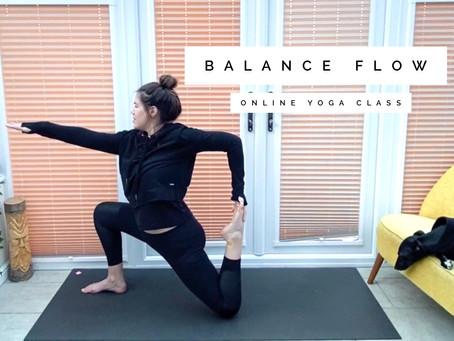 ONLINE FLOW CLASS | Balance flow