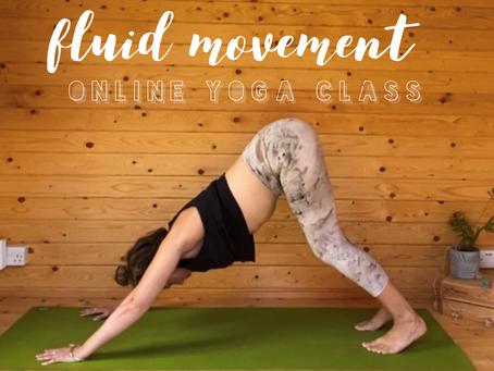 ONLINE FLOW CLASS | Fluid movement