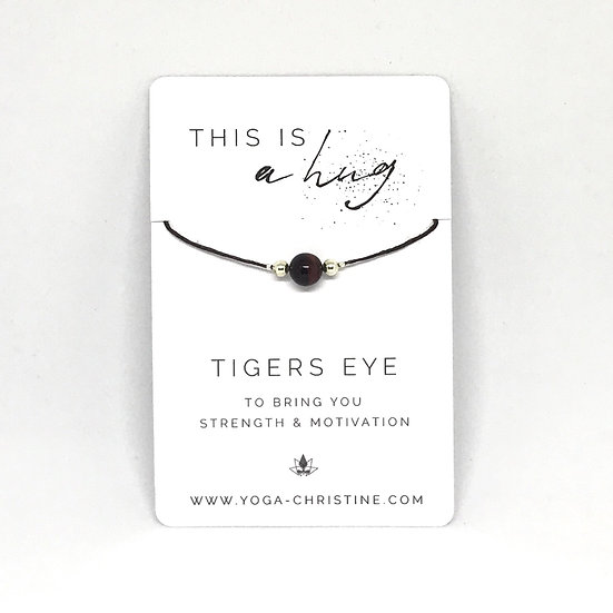 Tigers Eye Hug Bracelet