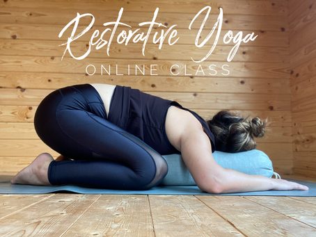 ONLINE CHILLED CLASS | Restorative yoga