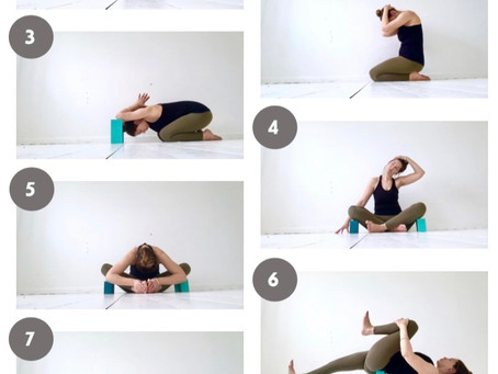 7 Poses for hip and shoulder release