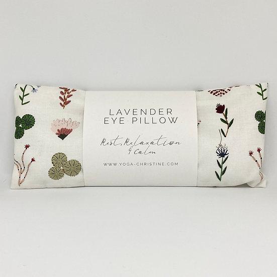 Plant life eye pillow