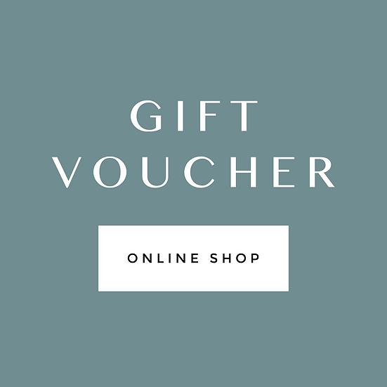 Online shop voucher
