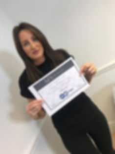 passed beauty training course in haydock