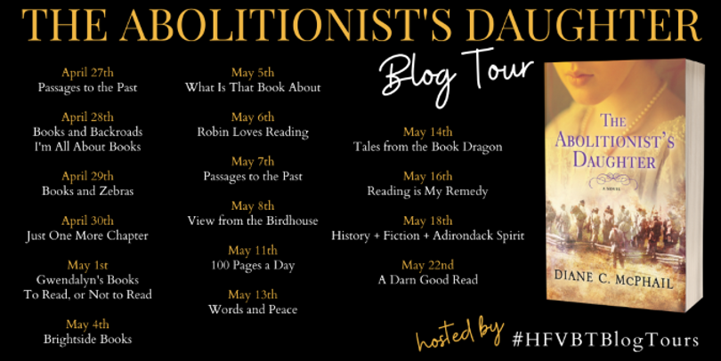 The Abolitionist's Daughter Blog Tour Po