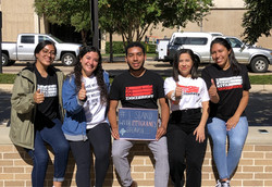 Registering voters with the Multicultural Greek Council
