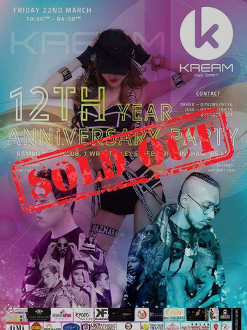 KREAM's 12th Year Anniversary Party 2019