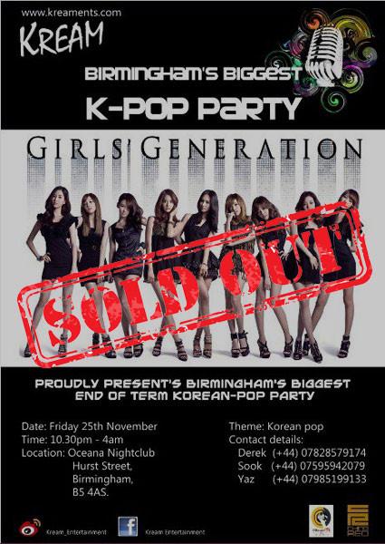 K-Pop Party 2011