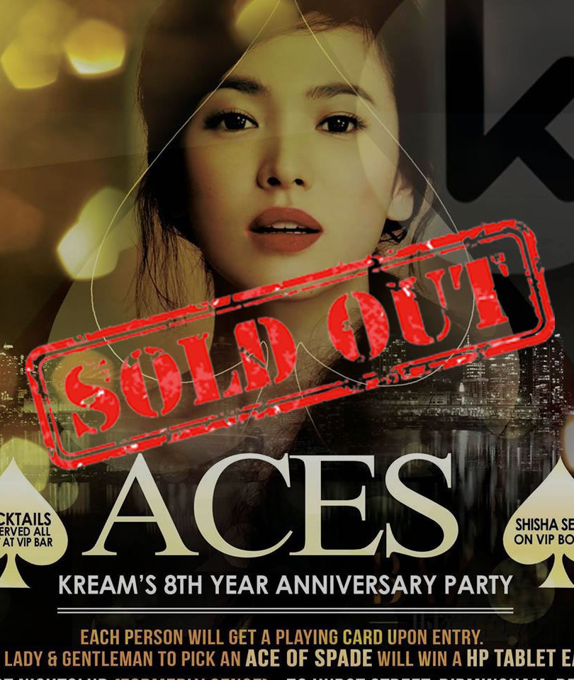 KREAM's 8th Year Anniversary Aces Party 2015