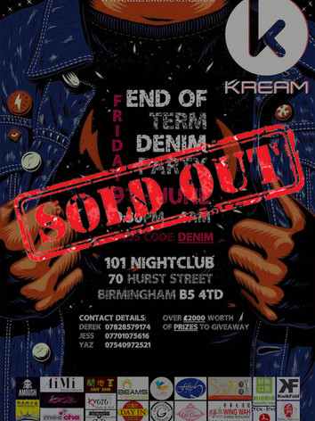 End of Term Denim Party 2017