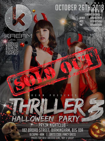 Halloween Thriller Party 3.0 2018