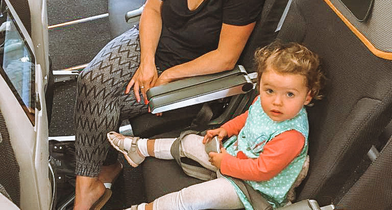 Flying long-haul with kids