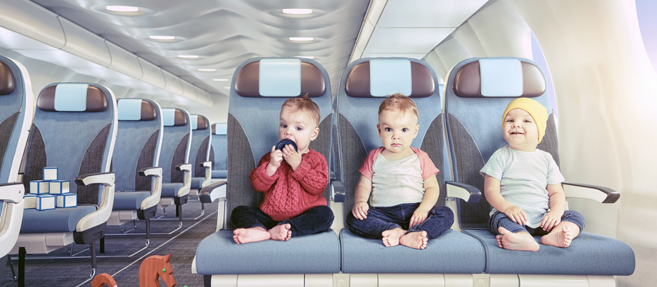 Should planes have a separate section for kids?
