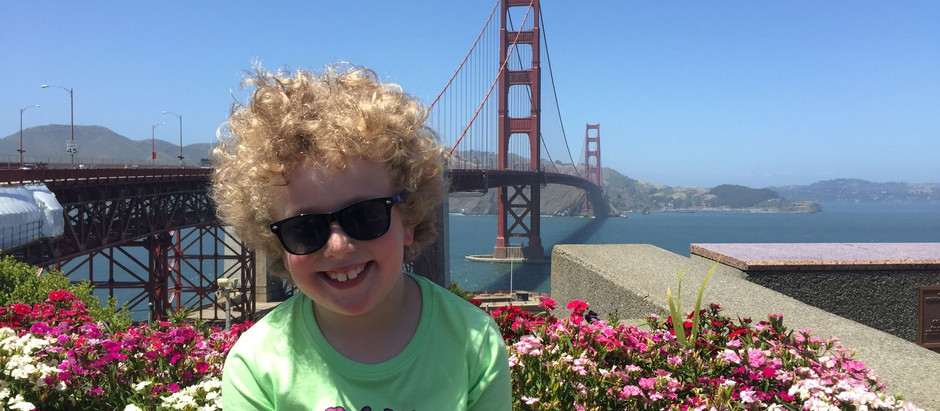 San Francisco with a seven-year-old