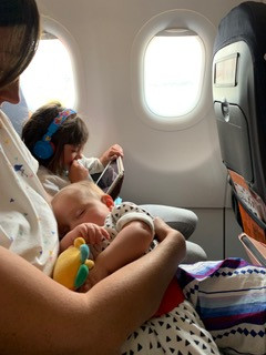 YES, you should take your baby on a plane!