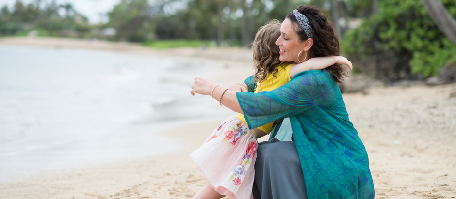 Single-parent travel with small kids