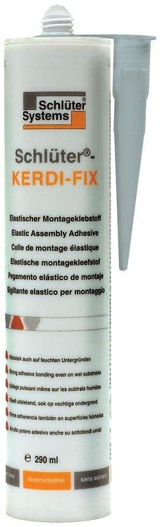 Schluter Kerdi Fix Grey Sealant 9.81OZ