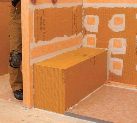 """Schluter Kerdi Board Shower Bench (Rectangle 48""""x16""""x20"""")"""