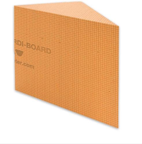 """Schluter Systems: Kerdi Board Shower Bench (Triangular 16""""x16""""x20"""")"""