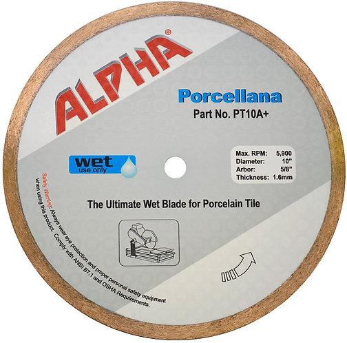 """8"""" Alpha Porcellana Wet Diamond Blade 5/8"""" Arbor"""