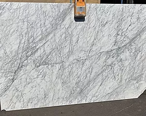 WHITE CARRARA HONED 3CM POLISHED