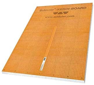 "Schluter Systems Kerdi Board Panels (48"" x 32"" x ½"") 18 Pcs Pack"