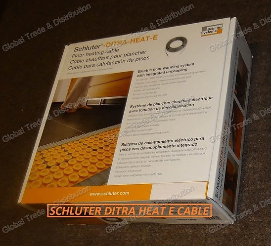 Schluter Systems Floor Heating  Cables 240V - 105.8 FT (DITRA-HEAT-E-HK)