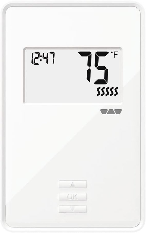 Schluter Systems Ditra Heat NON Programmable Digital Thermostat DHERT103/BW