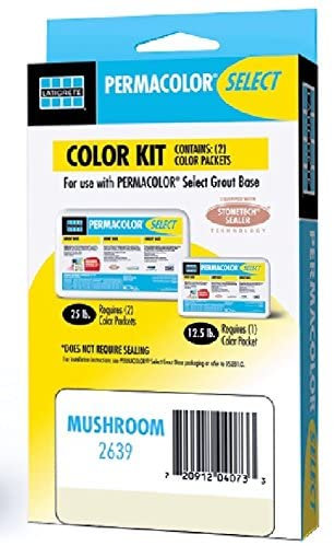 Permacolor SELECT Grout Color Kit (40+ Colors Available) (Silk)