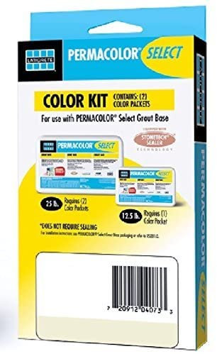 Permacolor SELECT Grout Color Kit (40+ Colors Available) (River Rock)