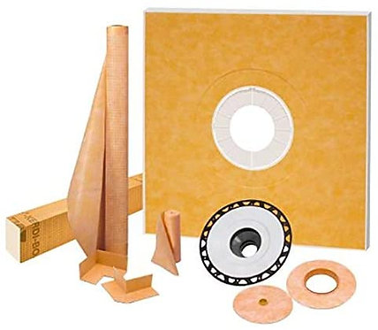 "Schluter Kerdi-Shower Kit 48"" x48"", ABS Flange"