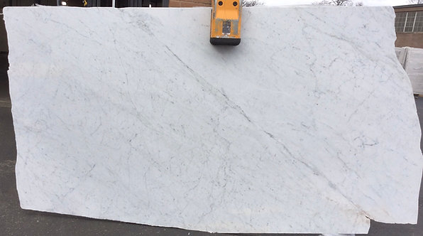 WHITE CARRARA 2CM HONED POLISHED
