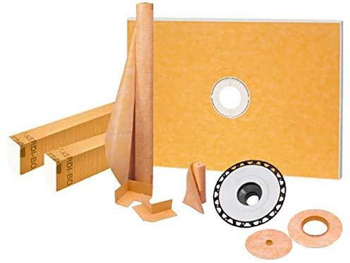 "Schluter Kerdi-Shower Kit 38"" x 60"", ABS Flange (1)"