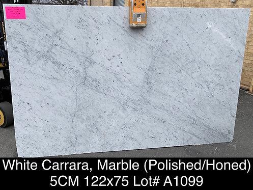 WHITE CARRARA 5CM  -A1099