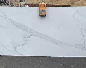 VERMONT CALACATTA LINCOLN BOOKMATCH - 2CM POLISHED SLABS..