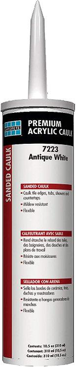 LATICRETE PREMIUM ACRYLIC CAULK SANDED BRIGHT WHITE