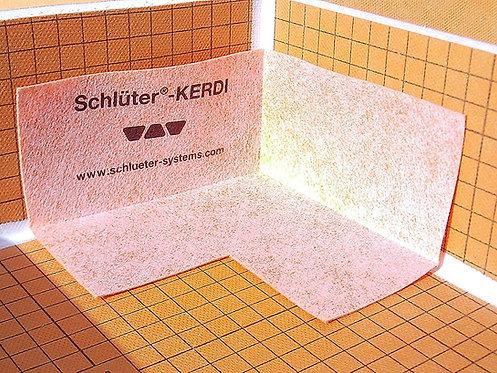 Schluter Kerdi Inside Waterproofing Corner, 4 Mil Thickness, Pack of 2