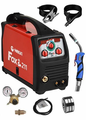 Saldatrice Multi-processo Helvi Fox 211 Digital