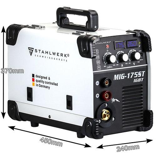 STAHLWERK MIG 175 ST IGBT - Saldatrice MIG MAG