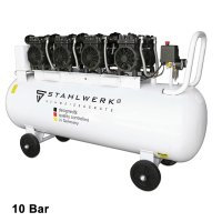 Compressore Silenziato STAHLWERK ST 1510 pro - 10 Bar