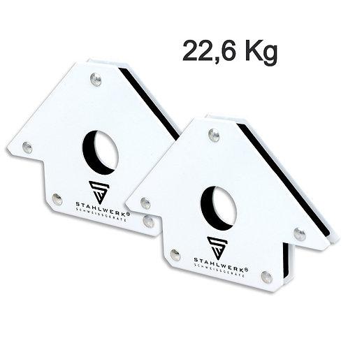 2x Supporto Magnetico Angolare 22,6 kg
