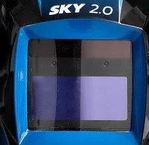 Vetrini Maschera Sky 2.0 Helvi 5 esterni + 2 interni