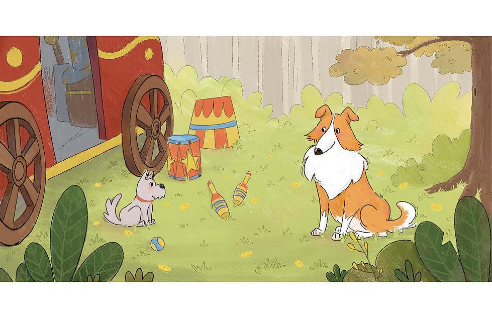 靈犬萊西兒童繪本