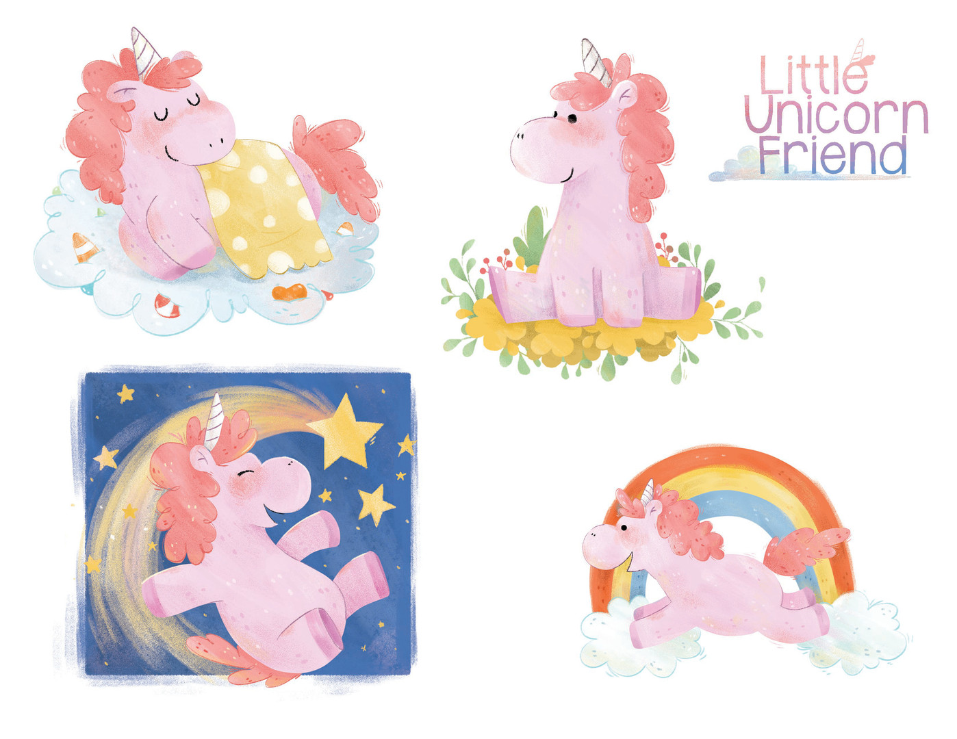 Little unicorn friend