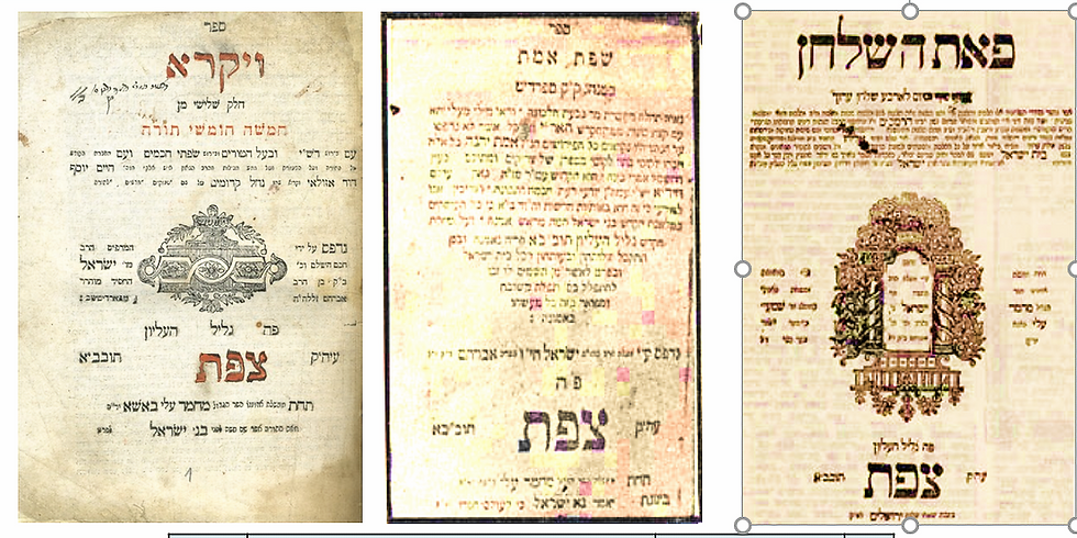 The First Hebrew Books in the Middle East