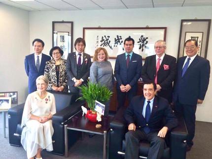 Встреча с 12 и 13 президентом Тайваня мистером Ma Ying Jeou в резиденции президента в Тайбэе