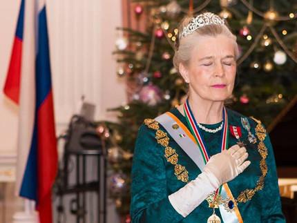 Первый Королевский банкет Ее Величества 152 княгини Бурбон Тарии Виттории