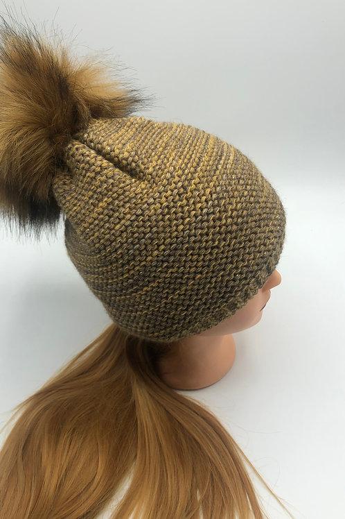 Mütze ocker